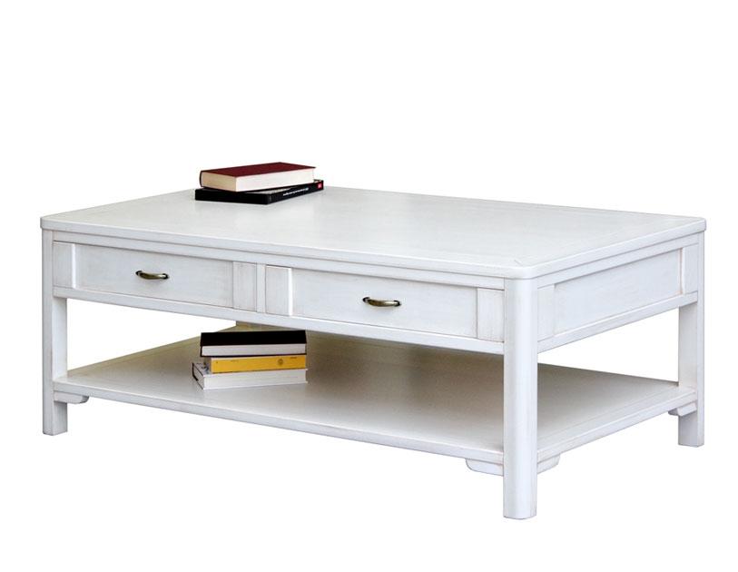 Tavolino da salotto 2 cassetti laccato