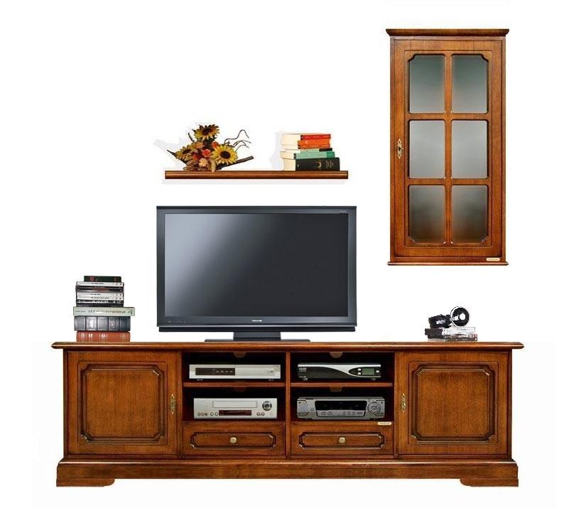 Arredo parete tv composizione soggiorno