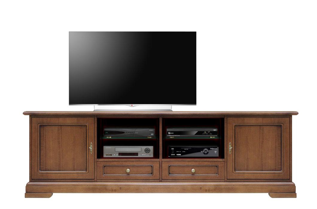 Porta tv classico 200 cm base soggiorno