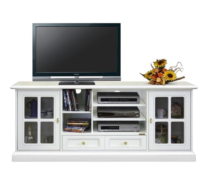 Porta tv laccato soluzione home theater