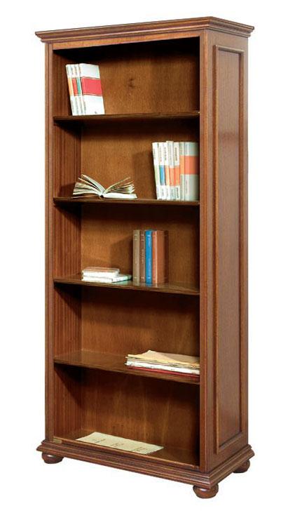 Libreria alta vani a giorno con 4 ripiani