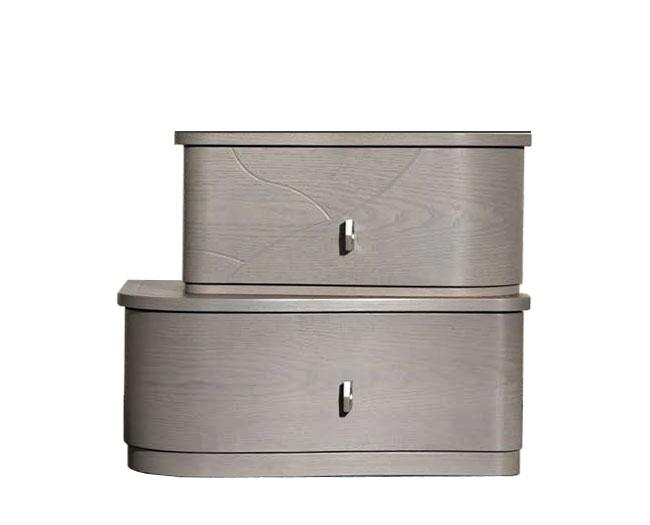 Comodino 2 cassetti - Collezione 'Gioia'
