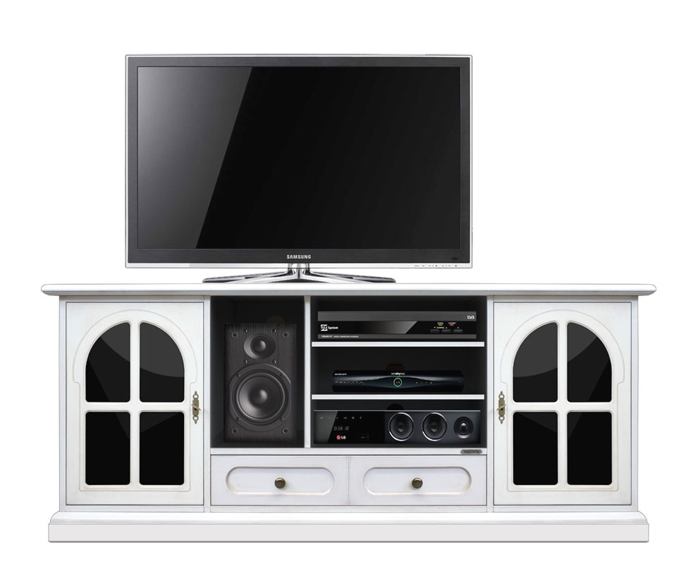 Mobile TV 160 cm 'Plex & white'