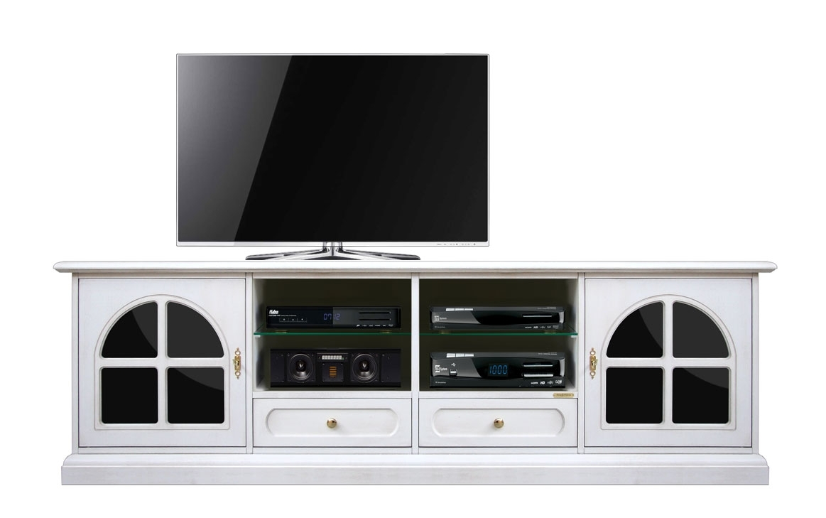Mobile TV 'Plex & white' 200 cm