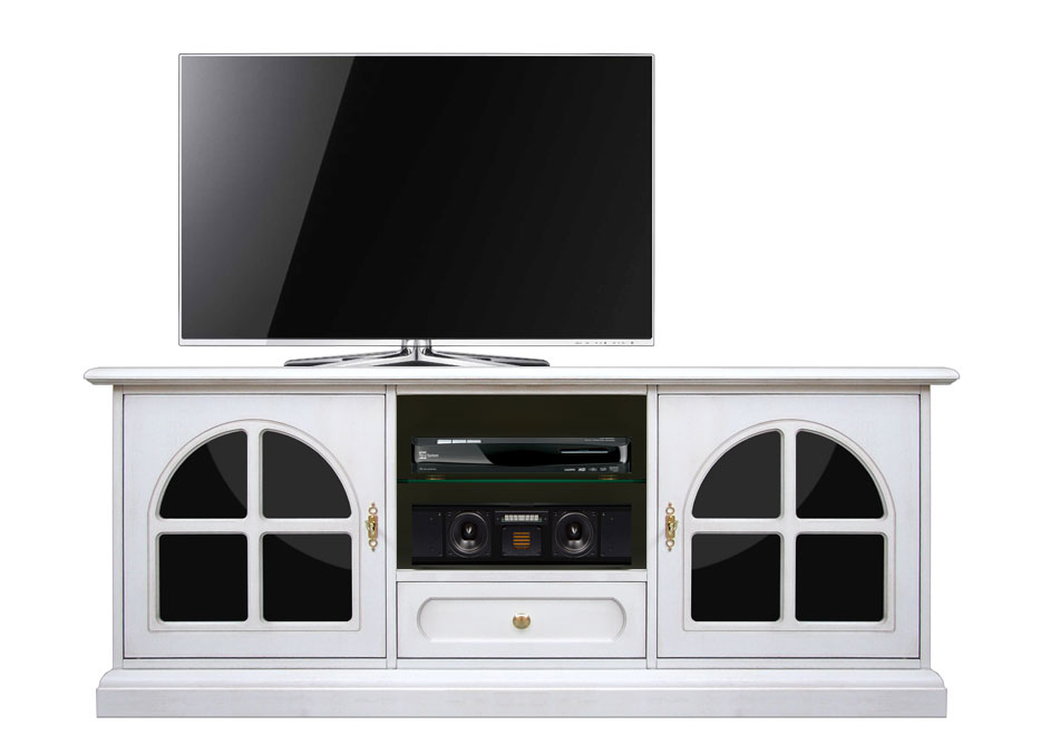 Mobile Tv Lux 'Plex & white'