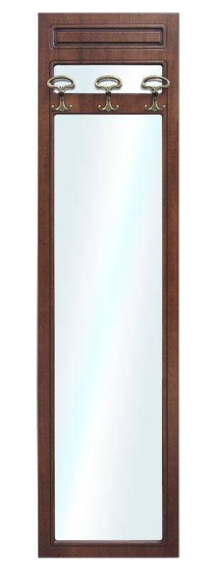 Pannello appendiabiti con specchio