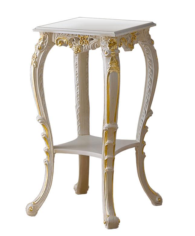 Portafiori, tavolino da lampada stilizzato