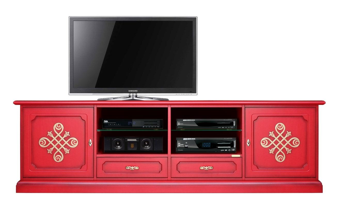 Mobile Tv 2 metri Red & Gold