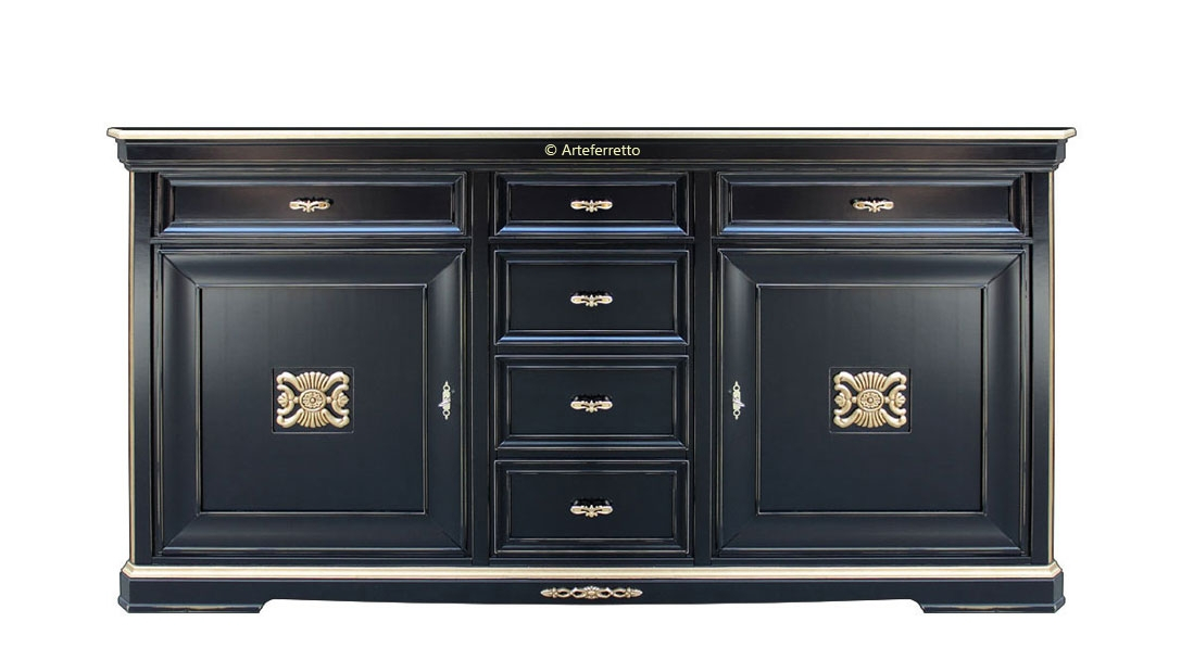 Credenza 'Black & gold' Today
