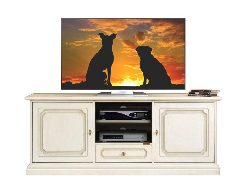 Porta tv classico laccato orizzontale
