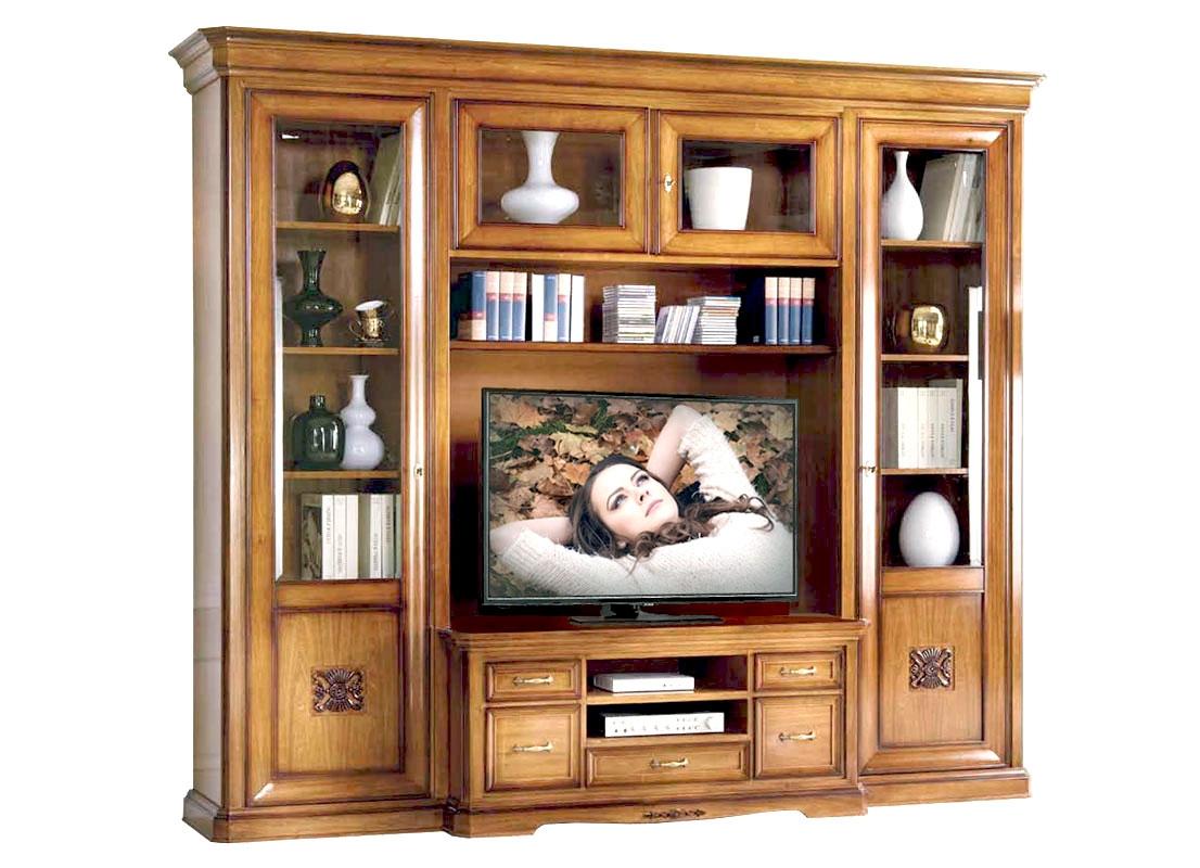 Parete tv soggiorno componibile