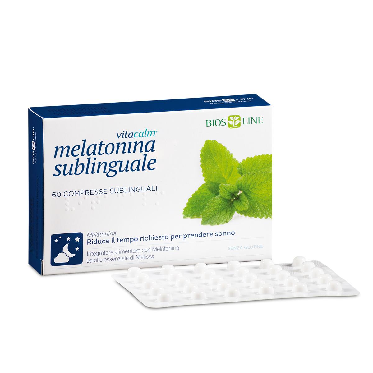 VitaCalm Melatonina Sublinguale - 120 compresse