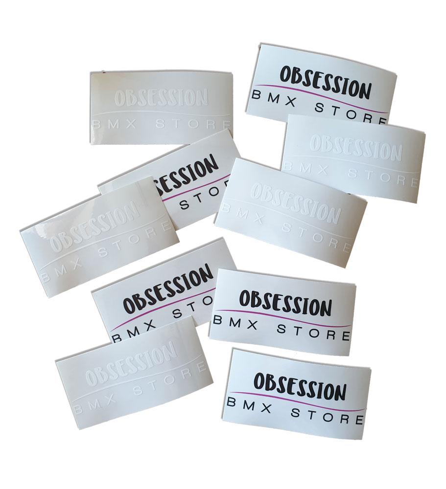 Sticker Obsession Bmx