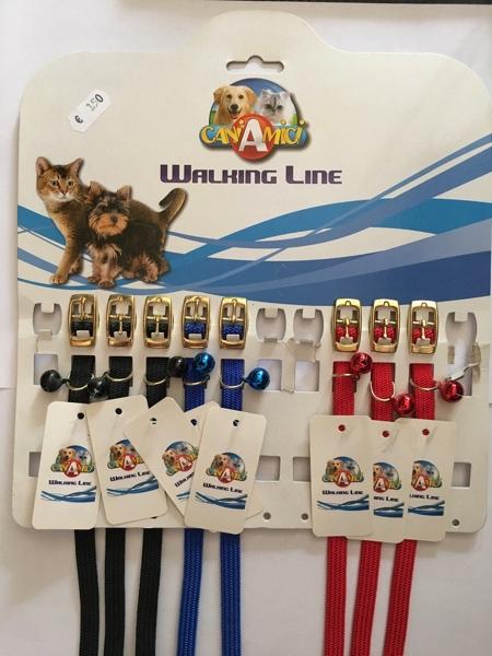 Croci Walking Line Collare elastico gatto