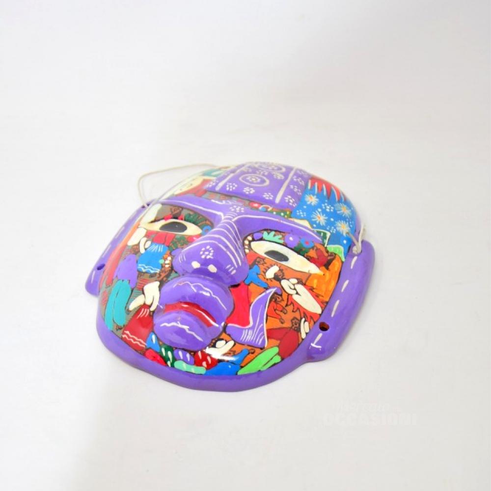 Maschera Mexicana Dipinta A Mano