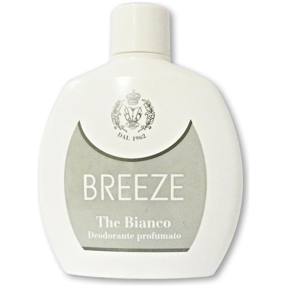 BREEZE Deodorante squeeze The Bianco 100 ml