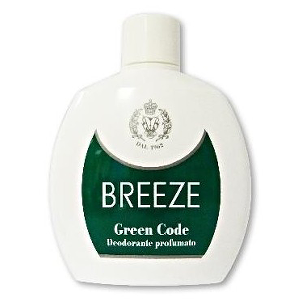 BREEZE Deodorante squeeze Green Code 100 ml