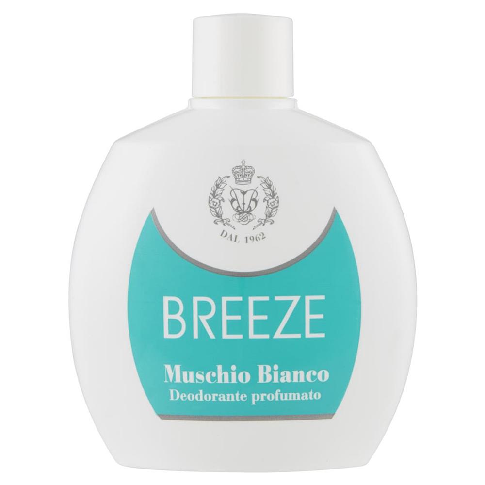BREEZE Deodorante squeeze Muschio Bianco 100 ml
