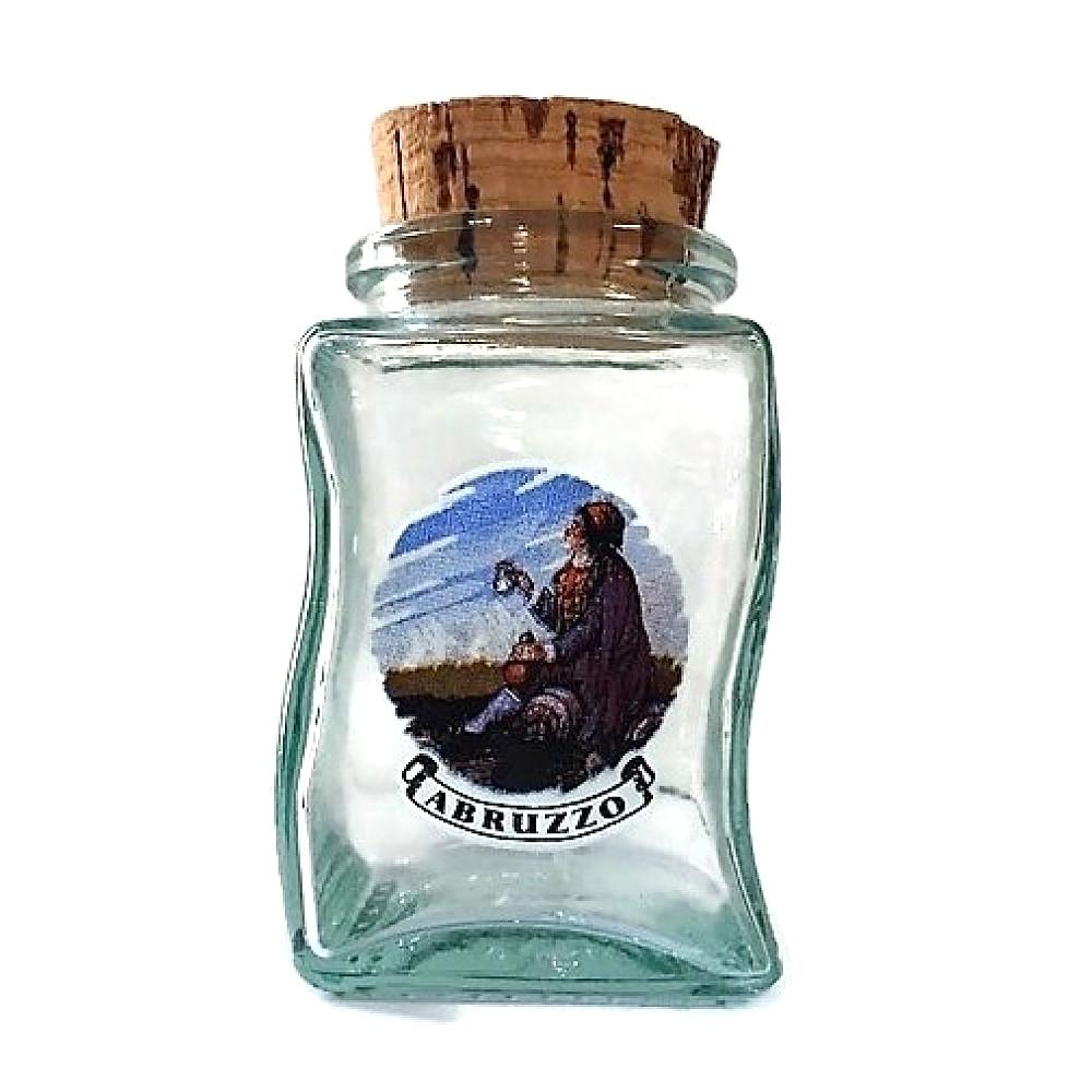 Bottiglietta Abruzzo in vetro souvenir