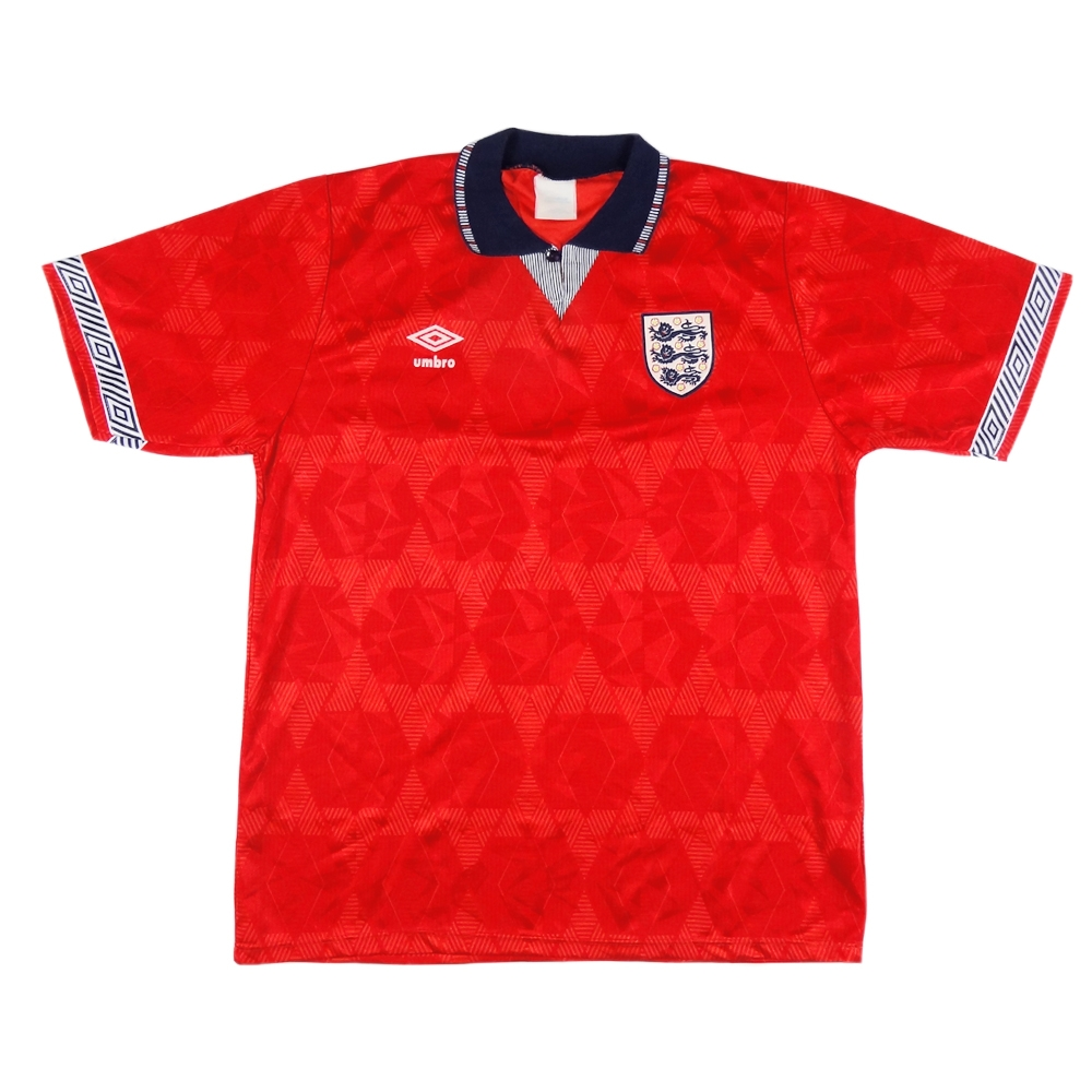 1990-93 Inghilterra Away  Maglia Home L (Top)
