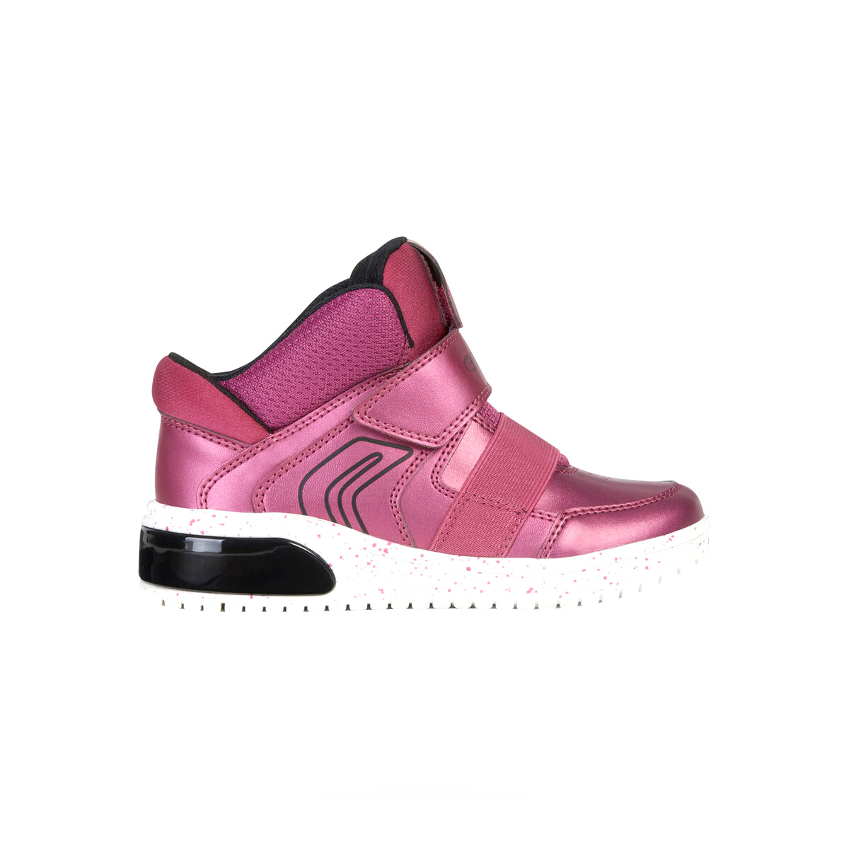 GEOX XLED SNEAKER JUNIOR GIRL CON LUCI PERSONALIZZATE