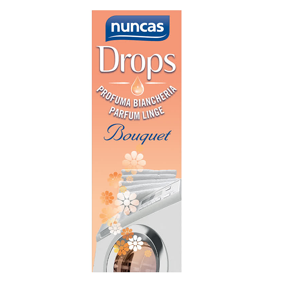 NUNCAS Drops Profuma Biancheria Bouquet 100 ml