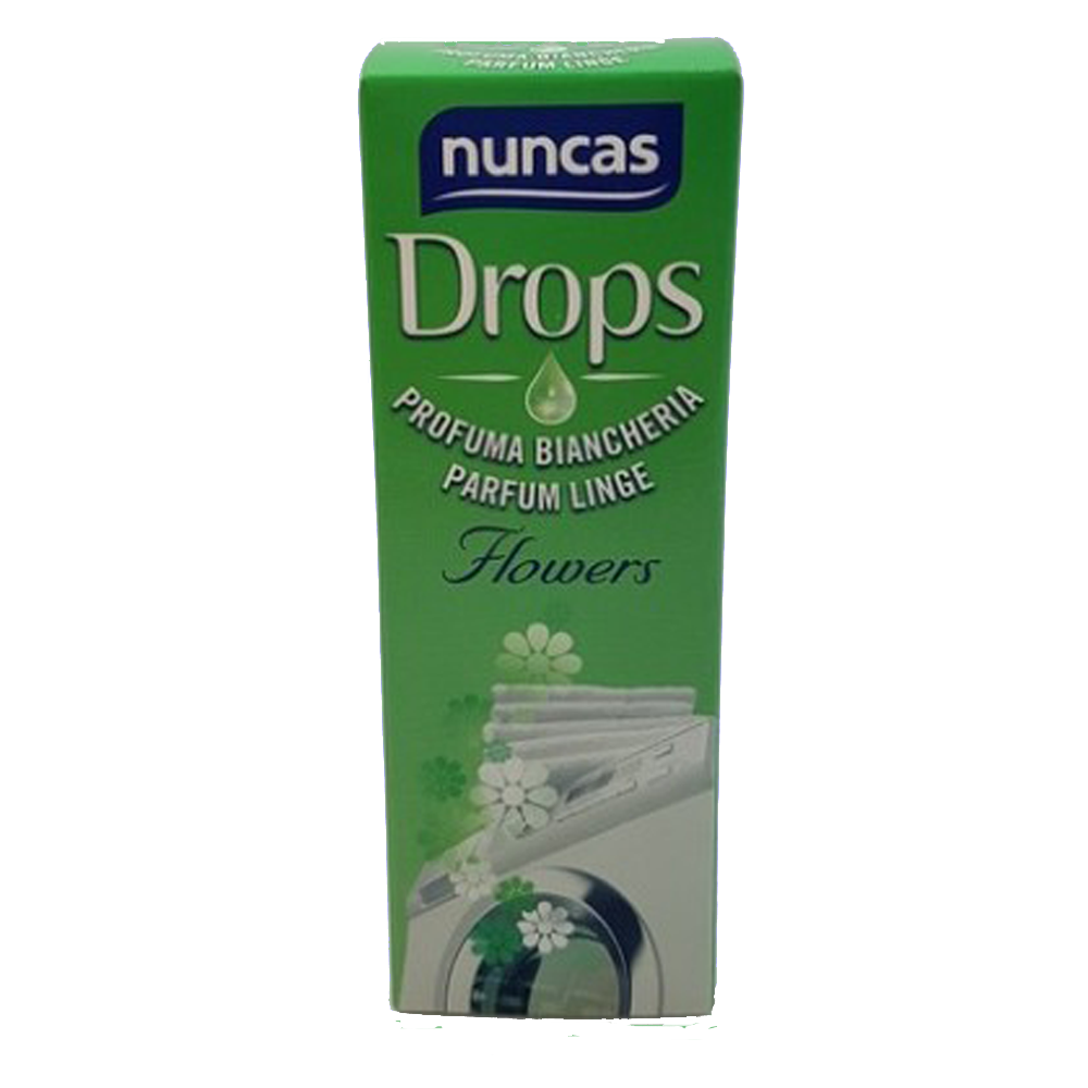 NUNCAS Drops Profuma Biancheria Flowers 100 ml