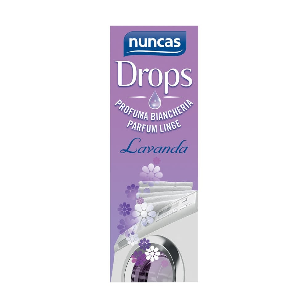 NUNCAS Drops Profuma Biancheria lavanda 100 ml