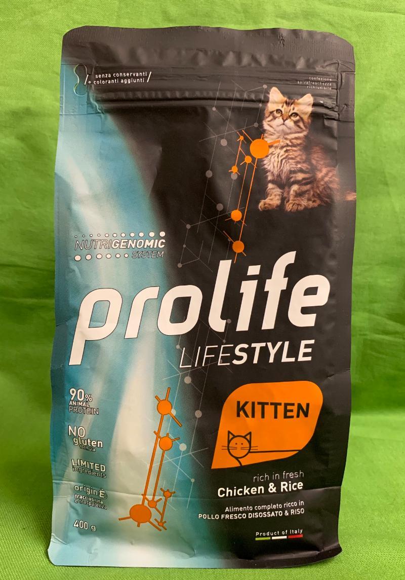 Life Style Kitten Chicken & Rice (Pollo & Riso)