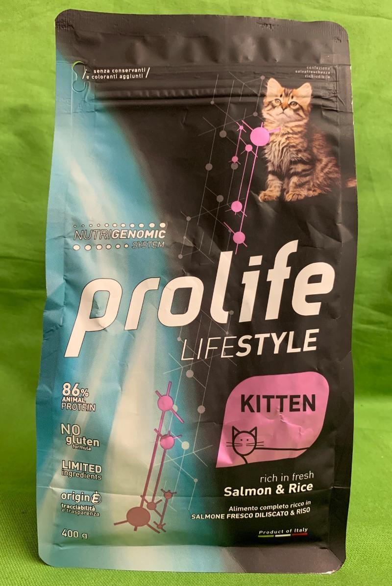 Life Style Kitten Salmon & Rice