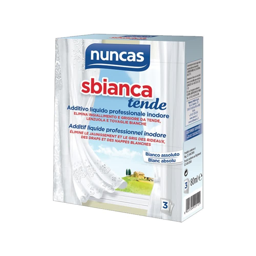 NUNCAS Additivo Sbianca Tende 80 ml