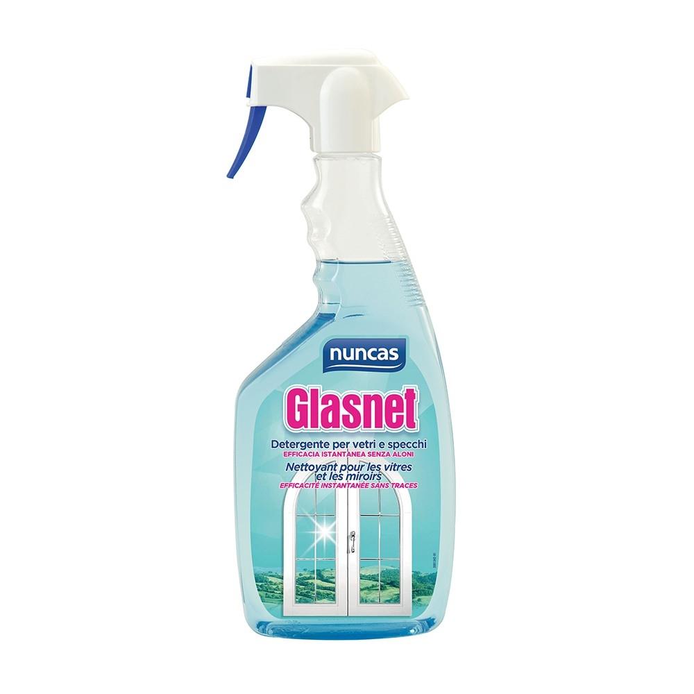 NUNCAS Glasnet Detergente Vetri e Specchi 750 ml