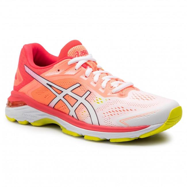Asics gel GT 2000  7 women white/laser pink 1012A610-100
