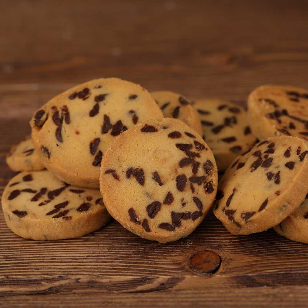 Biscotti Pulcinella con gocce di cioccolato  -  300gr