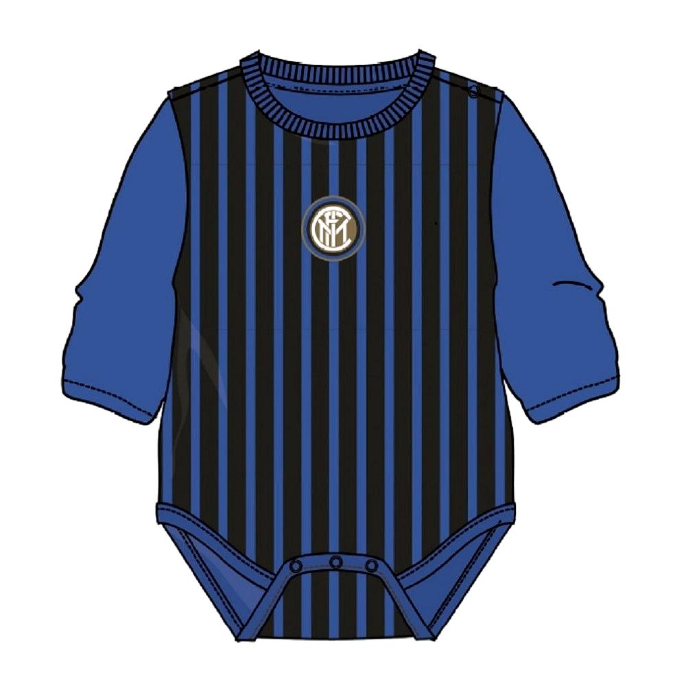 Body Inter 12 mesi neonato manica lunga