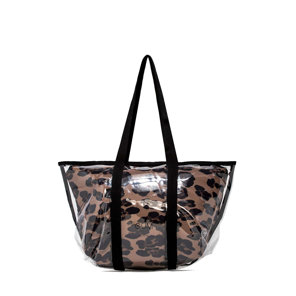 Shopper Fantasy media leopard - GUM Design