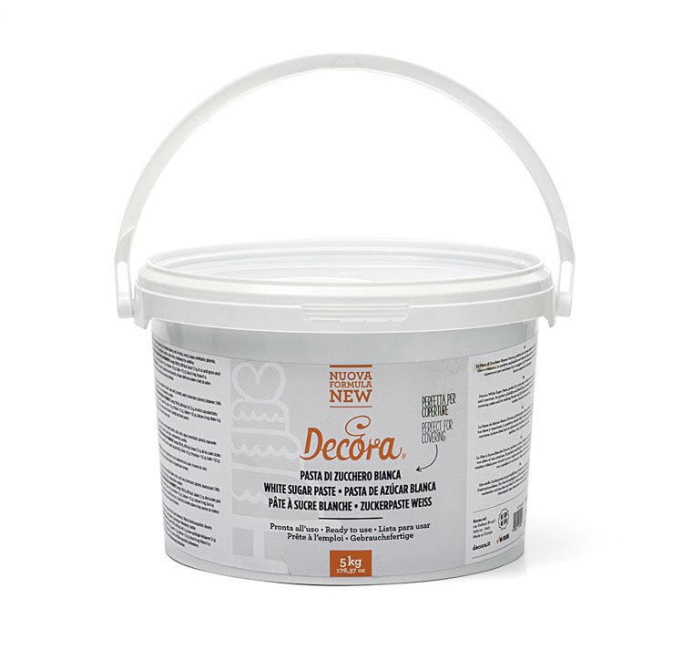 Pasta di zucchero bianca 5 kg