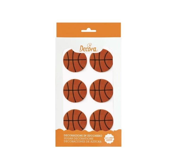 Palloni da basket in zucchero