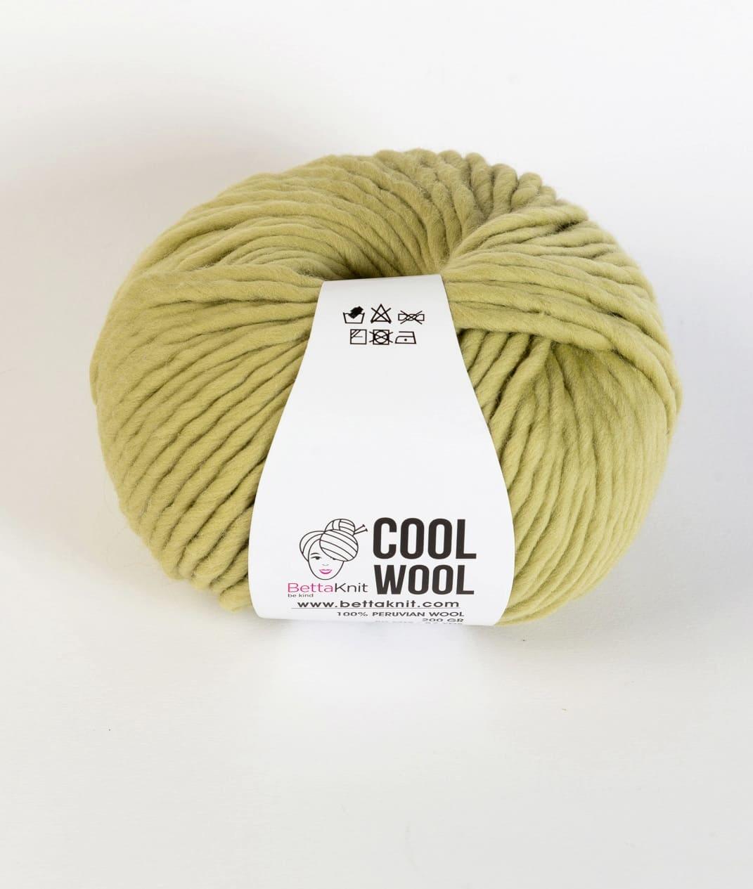 Cool Wool Yarns Wool Bettaknit