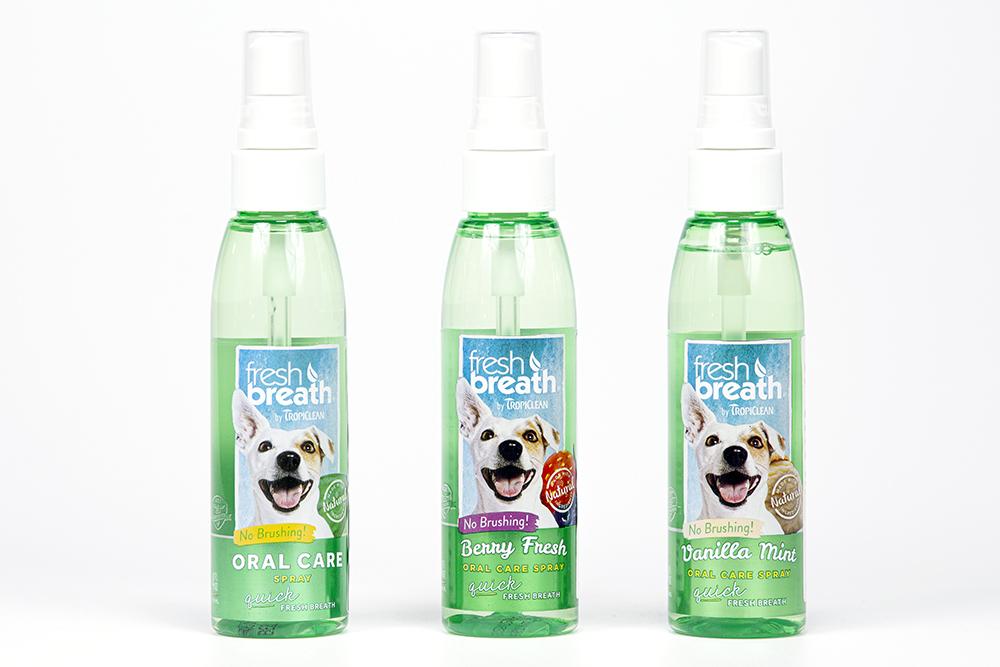 Tropiclean Oral Care Spray Cani