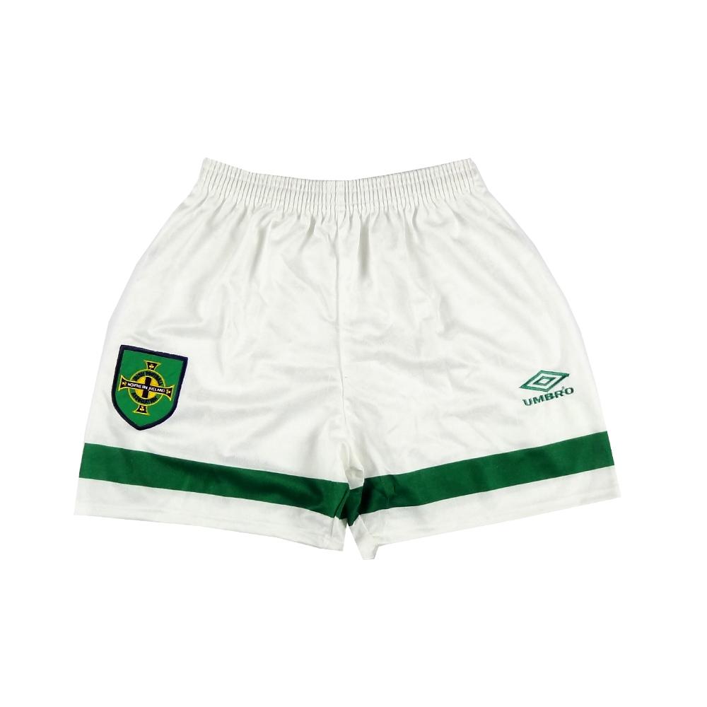 1992-94 Irlanda del Nord Pantaloncini Home *Nuovi