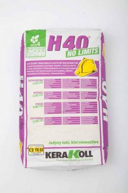 Kerakoll H40 no limits kg 25 bianca