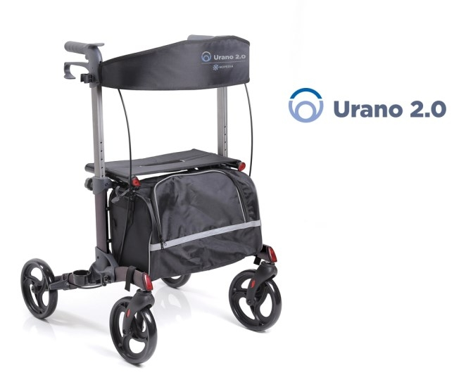 Rollator pieghevole 4 ruote Urbano 2.0