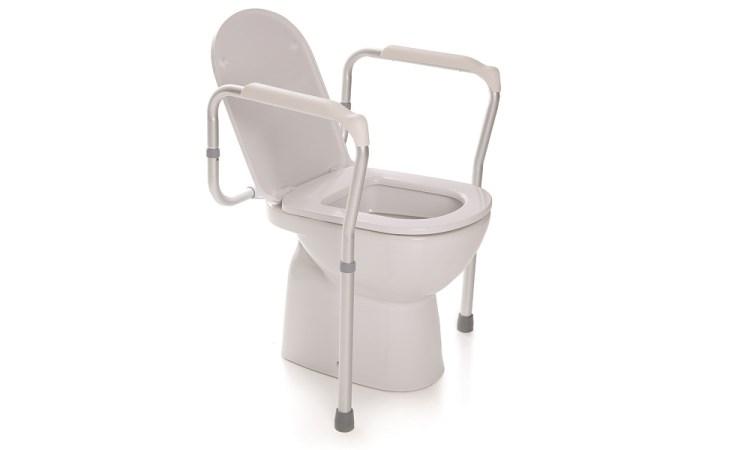 Sostegno per wc regolabile