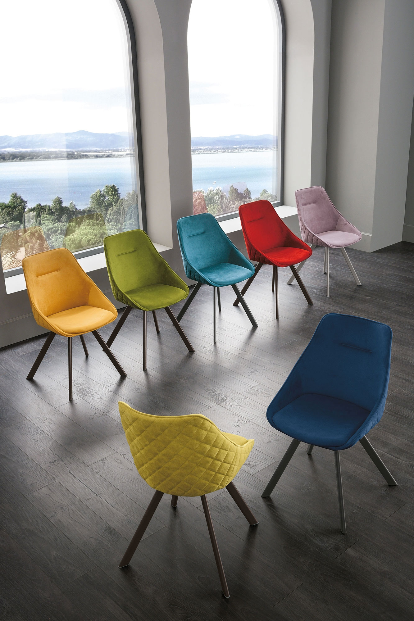 Sedia Bilbao color