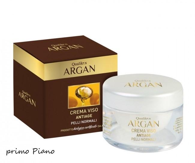 Crema Viso Pelli Normali Qualikos Argan 50 ml
