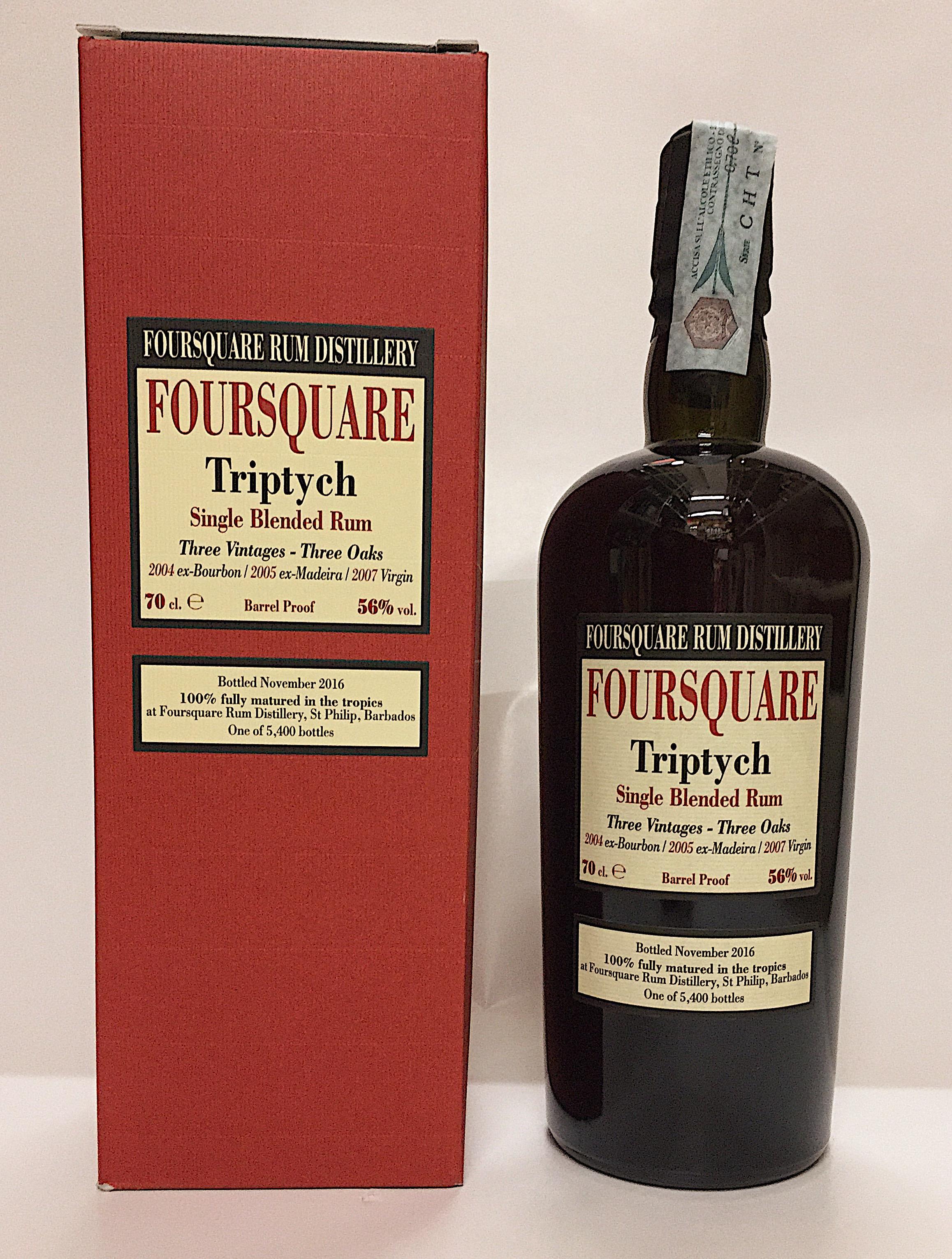 Rum Foursquare Triptych - Foursquare Rum Distillery- Barbados