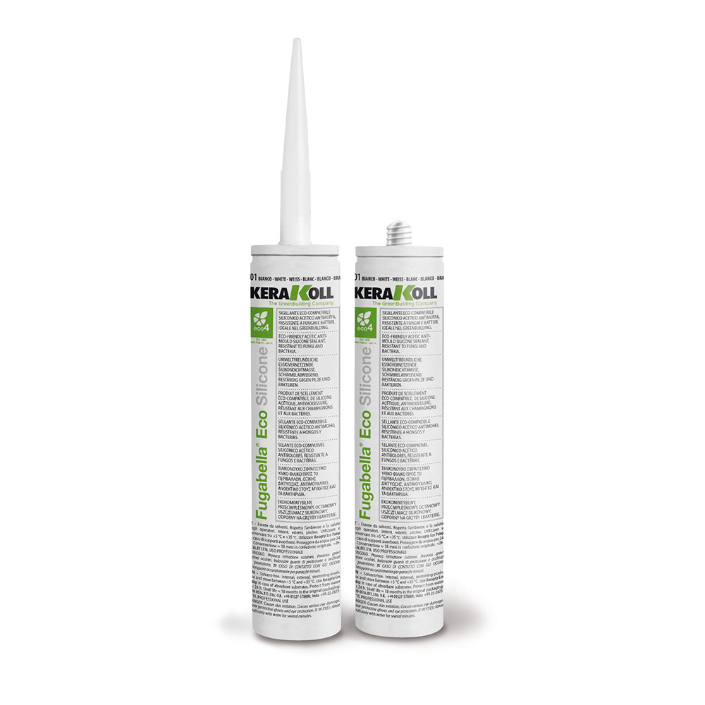Kerakoll Fugabella eco silicone 310ml colore avorio 46