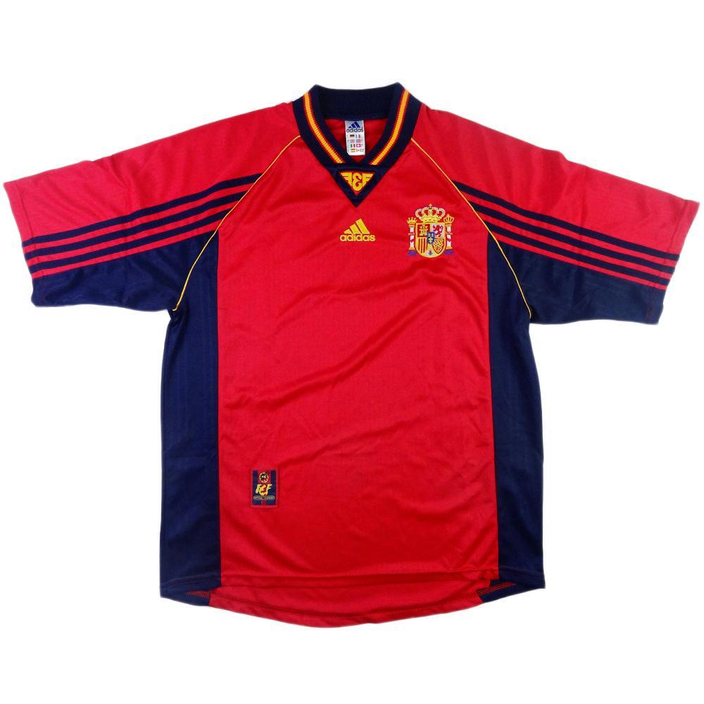 1998-99 Spagna Maglia Home L