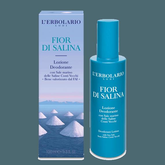 Lozione Deodorante Fior di Salina 50 ml L' Erbolario Novità 2019
